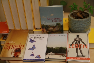 Some of the German authors' most recent books (C) Goethe-Institut Cairo