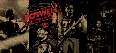 Roswell ( The Rock Show from Beirut ) at 3elbt alwan Roswell ( The Rock Show from Beirut ) at 3elbt alwan