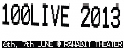 [Description]  100LIVE ELECTRONIC MUSIC FESTIVAL #7 @ RAWABIT THEATER 6th, 7th JUNE 2013  Rawabet Theater El Nabrawy St. (off Champollion St.) Downtown Cairo, Egypt